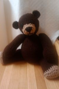 Old Fashioned Teddy Bear Pattern « Beautiful Nightmare