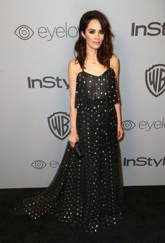 Actor Abigail Spencer attends the 2018 InStyle and Warner Bros. 75th Annual Golden Globe Awards Post-Party at The Beverly Hilton Hotel on January 7, 2018 in Beverly Hills, California.