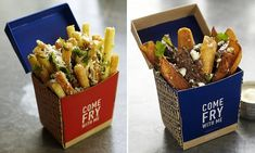 Come Fry With Me in London serves nothing but CHIPS with exotic toppings | Daily Mail Online