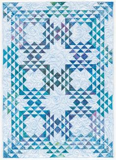 Triangulations Bed Quilts ~ The Rest is Easy from Brenda Henning's ...