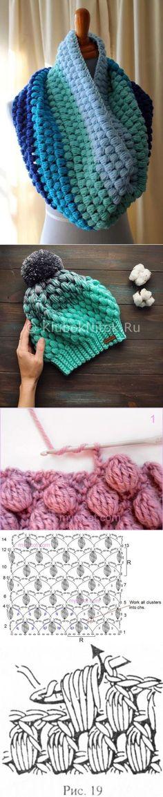 Crochet Beautiful Beanie Hat W