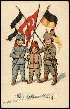 1.dünya savaşı propaganda afişi 1915