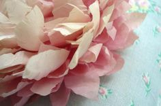 Tissue Paper Peony by such pretty things, via Flickr