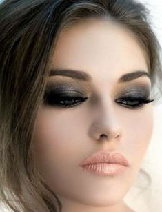 In this post the procedure of how to do smokey eye makeup is described. Here you can see many different styles of smokey makeup.