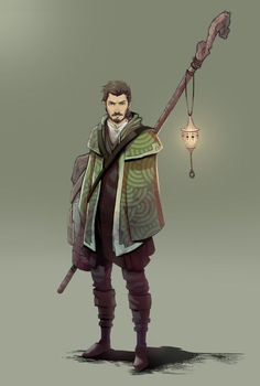 Raz the funny traveller Male fantasy RPG character for DnD or Pathfinder Fantasy Character Design, Character Creation, Character Design Inspiration, Game Character, Character Concept, Concept Art, Character Ideas, Dungeons And Dragons Characters, D D Characters
