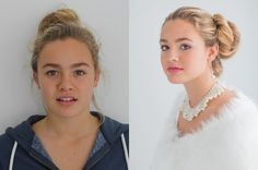 Expressions of Beauty - Before and After Solomon, Pearl Earrings, Business, Makeup, Beautiful, Beauty, Jewelry, Fashion, Make Up