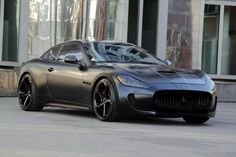 2011 Maserati GranTurismo S Superior Black by Anderson Germany