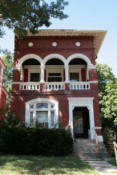 Moses Goldsmith Building in western Cincinnati, Ohio.