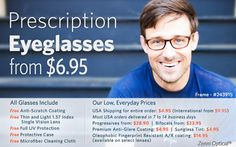 Zenni Optical - My friend just recommended this site to get inexpensive glasses.  I think we're going to try it for Tim next time he needs some.
