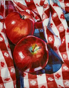 Apples and Checks.     Peggy Flora Zalucha