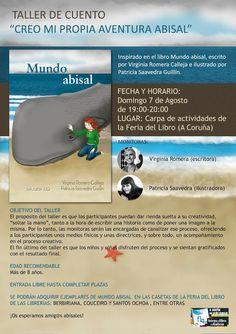 comparte+: Mundo Abisal en la Feria del Libro de A Coruña 2016: Taller de cuento y firma de libros
