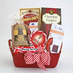 Bacon In The Holidays Gift Basket