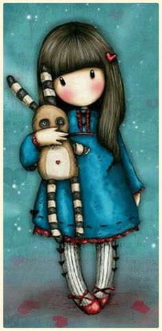Santoro Gorjuss чехол для iPhone Hush Little Bunny