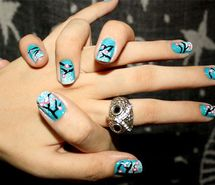 Inspiring picture fashion, ille, nail design, nail polish, nails, owl. Resolution: 500x374 px. Find the picture to your taste!