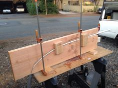 Homemade PVC bow making jig!