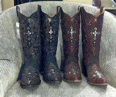 Cross Boots