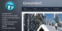 Grounded HTML Theme   http://themeforest.net/item/grounded-html-theme/151997?ref=damiamio       Grounded is a highly-customizable HTML theme that can be used for just about any type of website.  Theme Features    Homepage featuring a slider, message box and featured posts area   Three slider options: content with either video or images, content with a full-width image display, Nivo jQuery slider with full-width images only  Three message box styles and three message types    page…
