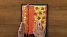 How To Use Contrasting Thread Colors In Your Quilt | NQC http://www.nationalquilterscircle.com/video/how-to-use-contrasting-thread-colors-in-your-quilt-009180/ #LetsQuilt