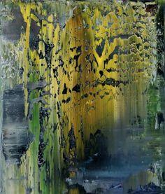 Gerhard Richter, Tableau abstrait, 1994, Huile sur toile, Catalogue Raisonné: 801-5. www.gerhard-richt...