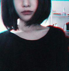 ulzzang, black, and grunge image
