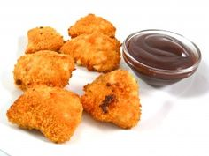 Guilt-free Chicken Nuggets, Oh Yeah! Most kids love McDonald's Chicken McNuggets. I'm sure many grown-ups do too. But, they are so unhealthy! Happily, not my skinny ones...No deep frying here! The skinny for 6 chicken nuggets only 203 calories, 4.7 grams of fat and 5 Weight Watchers POINTS PLUS. You'll LOVE them!
