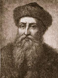 El 3 Febrero de 1468 Muere Johann Gutemberg, inventor de la imprenta de tipos móviles.