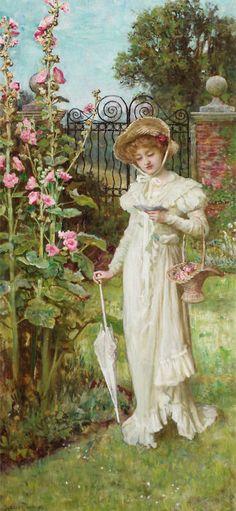 "Francis Sydney Muschamp (1851-1929), ""The letter"""