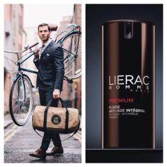 Το πρωί ή το βράδυ, ο άνδρας τα έχει όλα σε 1: Lierac Premium Homme, ολική αντιγήρανση, βαθιά φροντίδα, απόλυτη περιποίηση.