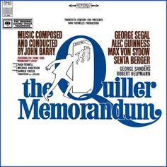"""The Quiller Memorandum"" (1966, Columbia).  Music from the movie soundtrack."