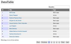 #Drupal : Using DataTables In Drupal 7