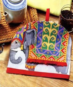 Слон. Вышивка крестом