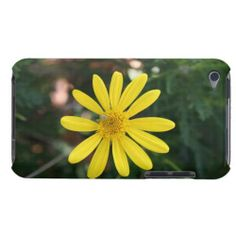 Yellow Daisy With Green Bug iPod Touch 4g Case | iPod Touch 4th Generation Cases