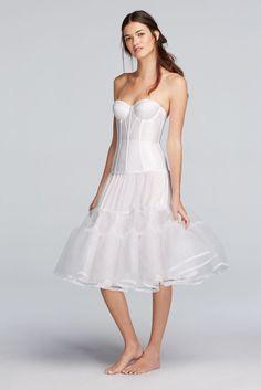 438078bc0fd Tea Length Slip Style TLENGTHSLIP Wedding Dress Undergarments