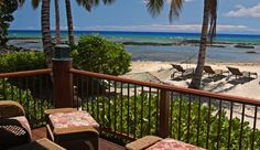 Paradise Beach Villa: Relax in the double hammock on the beach or the hot tub on the beachfront lanai. #JSHammock