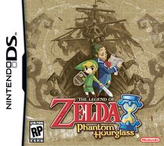 The Legend of Zelda: Phantom Hourglass (2007, Nintendo US) - America boxart