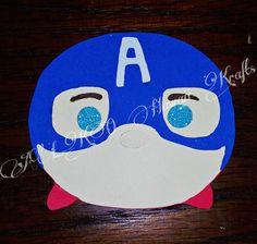 Captain America Disney Tsum Tsum inspired by ALKOHawaiiKrafts