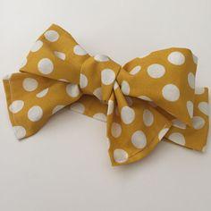 Baby Headwrap, Mustard Polka Dots, Headwrap, Baby Girl Headwrap, newborn Headwrap, boho Headwrap, Toddler Headwrap, Infant Headwrap by KristelSummer on Etsy https://www.etsy.com/listing/248263035/baby-headwrap-mustard-polka-dots
