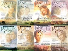 Love Comes Softly series by Janette Oke I have read the whole series and they were great!