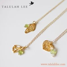 Nature Inspired - 24K Gold Vermeil Jewelry. www.talulahlee.com