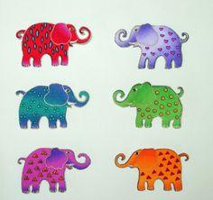 elephant appliques