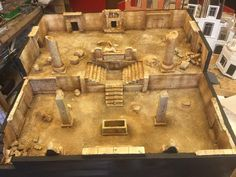 Warhammer Terrain, 40k Terrain, Wargaming Terrain, Medieval, Decoration, Dollhouse Miniatures, Board Games, Projects To Try, Scenery
