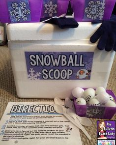 Mrs. King's Music Room: Music Workstations: Snowball Scoop