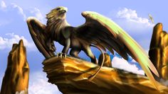 griffin by guillaume phoenix digital art drawings paintings fantasy ...