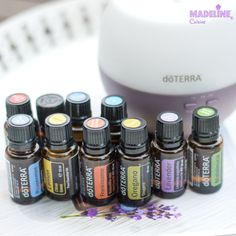 Prima mea experienta cu uleiurile esentiale DoTERRA - Madeline's Cuisine Doterra Oils, Melaleuca, Medicine, Nail Polish, Essential Oils, Beauty, Oil, Display, Backgrounds