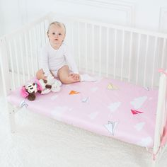 Baby Crib Fitted Sheet | Super Soft Newborn Infant Cot Sheets  Price: 37.00 & FREE Shipping  #babyclothes Cradle Bedding, Baby Bedding, Crib Protector, Muslin Baby Blankets, Baby Bumper, Baby Corner, Baby Potty, Cot Sheets, Swaddle Wrap