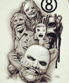 tatoo slipknot - Pesquisa Google Slipknot, Corey Taylor, Tonight Alive, Dexter Morgan, Claire Holt, Viria, Hayley Williams, Sleepy Hollow, Emma Swan