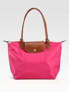 Longchamp  Le Pliage Small Tote/Basic in pink, beige, black, chocolate, deep red, graphite, navy & slate
