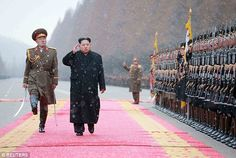 North Korea is just two weeks away from a SPACE LAUNCH   Daily Mail Online