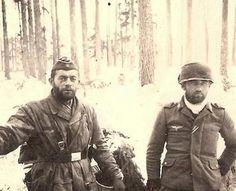 Немецкие парашютисты на Восточном фронте. Вторая мировая. 40-е.