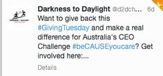 #GivingTuesday #beCAUSEyoucare